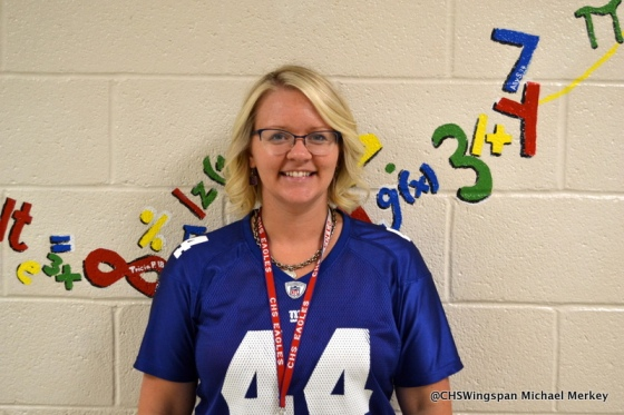 Ms. Holzman, one of Centennial's new teachers.