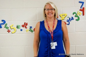 Mrs. Flynn, Centennial's new Algebra 1, Algebra 2, and Algebra Seminar teacher.
