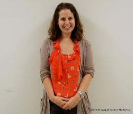 Mrs. Mancini, one of Centennial's new teachers.