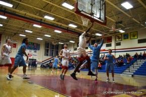 Boys' Basketball Defeats RiverHill